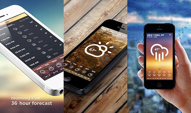 Le più belle applicazioni meteo per iphone e android