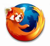 firefox panda rosso
