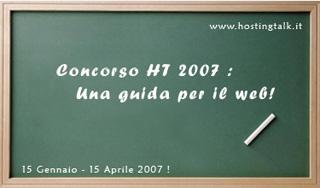 hosting talk concorso 2007