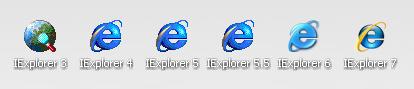 installare diverse versioni di internet explorer