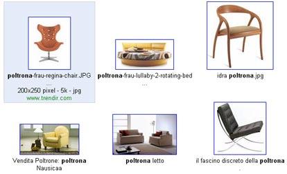 layout immagini google