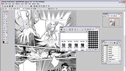 manga studio screenshot