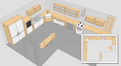 Ikea planner arreda la cucina design multimedia for Tutorial ikea home planner