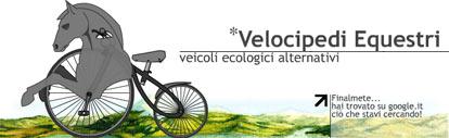 velocipedi equestri
